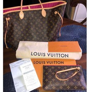Louis Vuitton Monogram Pivoine Neverfull GM